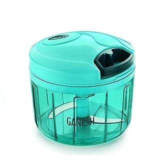 Ganesh Chopper Vegetable Cutter, Blue (725 ml)