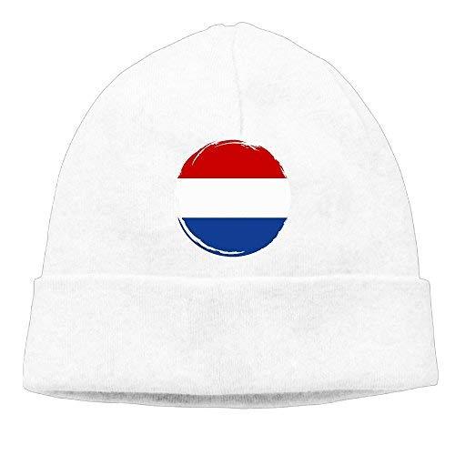 Go Ahead boy Unisex Netherlands Flag Classic Fashion Daily Beanie Hat Skull Cap