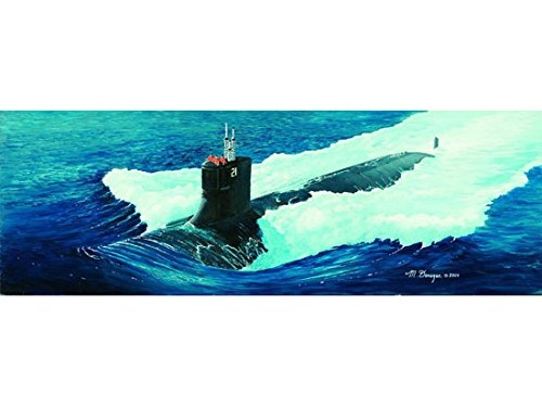 Sea Submarine Class Wolf - Trumpeter 1/144 05904 USS SSN-21 Sea Wolf Attack Submarine