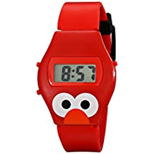 Sesame Street Kids' SW630EL Talking Elmo Digital Display Red Watch