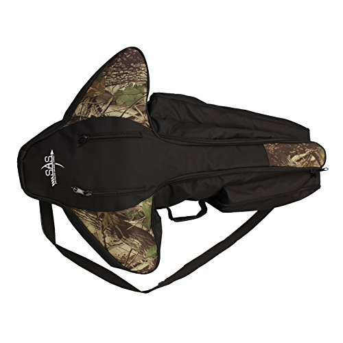 Southland Archery Supply SAS Deluxe Compact Padded Soft Crossbow Case with Sling and Extra Compartments