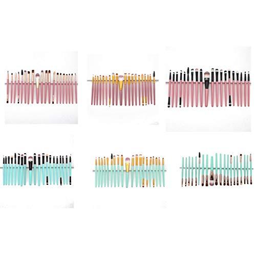 20PCs Makeup Brushes Set Cosmetic Foundation Eyeshadow Lip Brush Makeup Tools