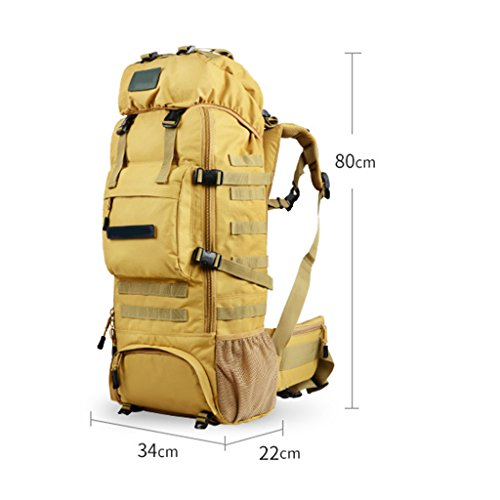 70L Seasons Large B Textile Waterproof Oxford Shoulders zyy Four Women And Outdoor Camping Color Men Bag C Backpack Capacity Universal Backpacks Hiking xFwqwZO8