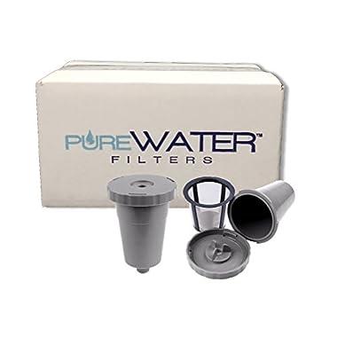 Keurig My K-Cup Reusable Coffee Filter Plus Extra Filter K10 K45 K55 K65 K75 Platinum Plus