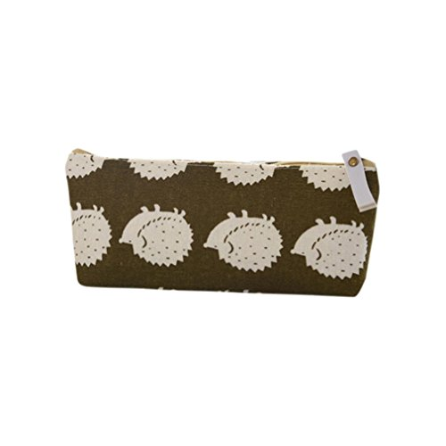 Gbell Cute Animal Coin Bag,Girls Purse Wallet Pencil Case Box Large Canvas Pen Bag for Kids Children -