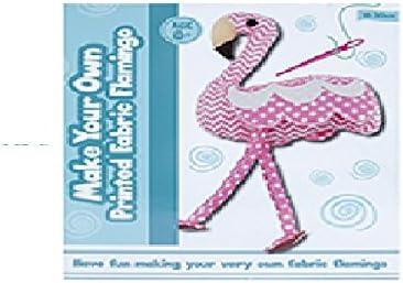 Amazon Com Toyland Make Your Own Printed Fabric Flamingo Arts