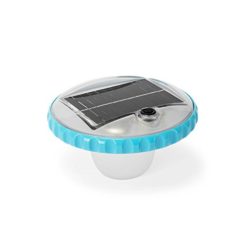Intex Floating LED Pool Light, Solar Powered with Auto-On at Night in USA