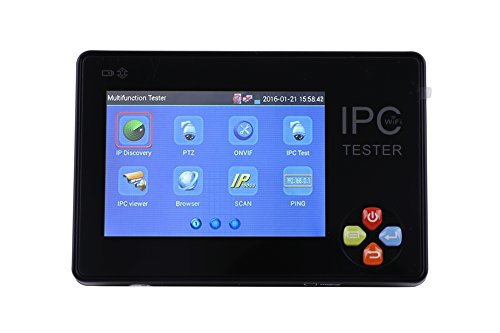 CCTVMTST IPC-1600 Portable 3.5'' TFT-LCD Touch Screen Wrist Multifunction IP Camera CCTV Tester Support ONVIF PTZ WIFI by CCTVMTST