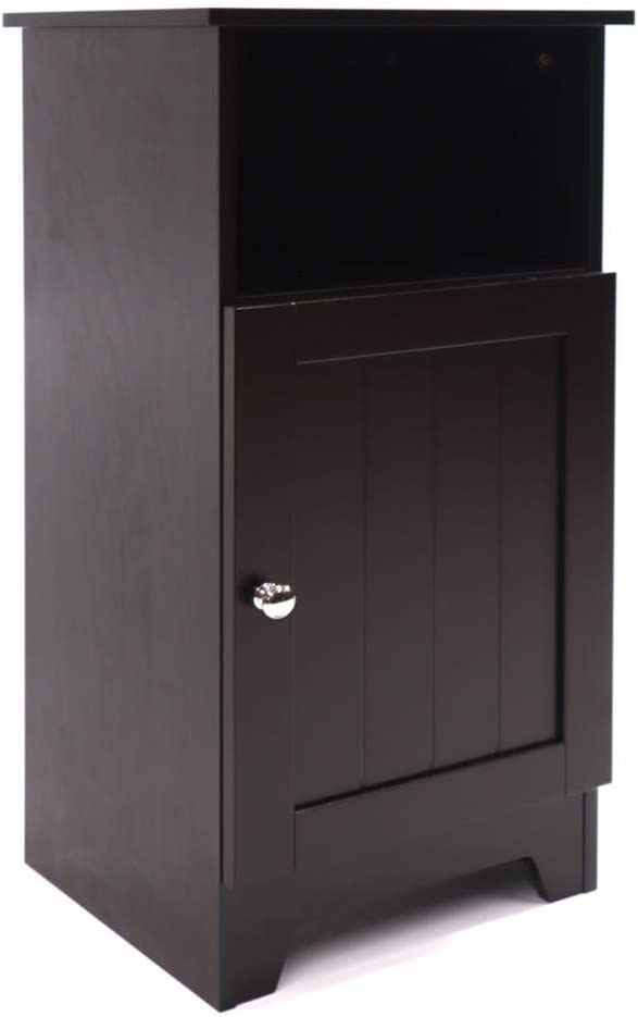 Redmon Contemporary Country Single Door Cabinet, One Size, Espresso