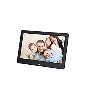 10 inch HD TFT-LCD 1024 * 600 Digital Photo Frame Alarm Clock MP3 MP4 Movie Player with Remote Desktop