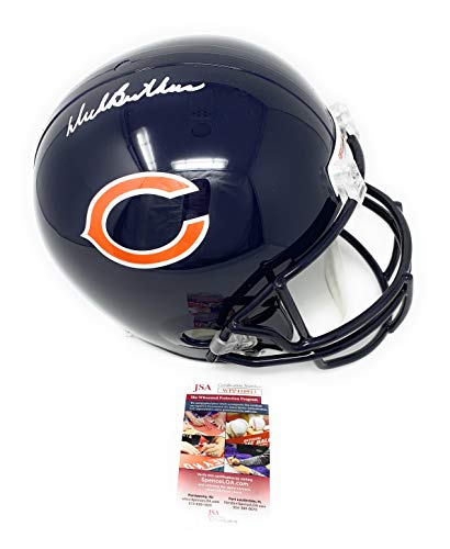 Butkus Helmet Dick - Dick Butkus Chicago Bears Signed Autograph Full Size Helmet JSA Witnessed Certified