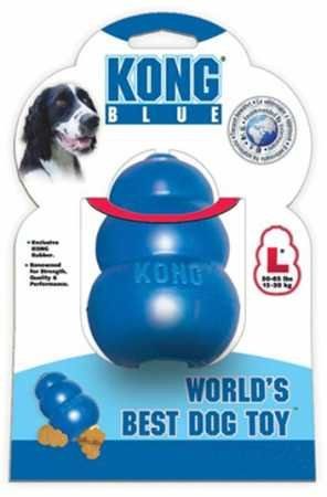 KONG Chew Toy, Large, bluee