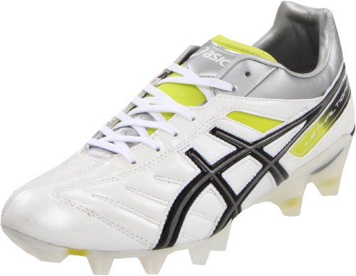 ASICS Men's Lethal Tigreor 4 IT Soccer Shoe,Pearl White/Black,10.5 M US