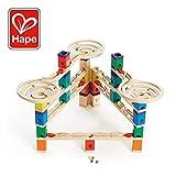 Hape International Hape Quadrilla Wooden Marble Run Construction - Vertigo - Quality Time Playing Together Wooden Safe Play