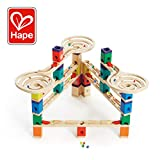 Hape Quadrilla Wooden Marble Run Construction - Vertigo - Quality Time Playing Together Wooden Safe Play - Smart Play...