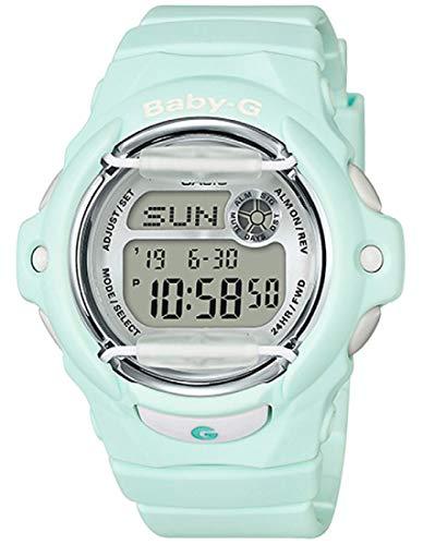 - Casio BG169R-3 Baby G Women's Watch Light Mint 46mm Resin