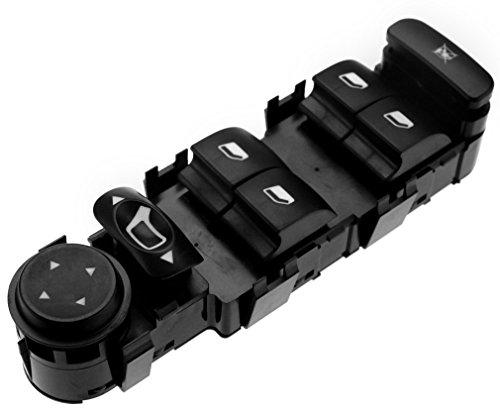 black-driver-side-master-control-window-switch-9-pin-fit-citroen-c4-oem-6554ha