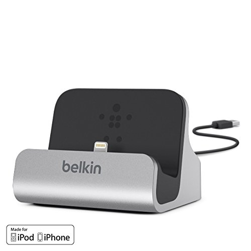 Belkin Charge and Sync Desktop Dock, Lightning Connector Phone Charger...