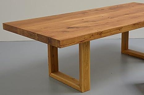Miro lange tavolo da pranzo in legno di frassino 8 cm: amazon.it