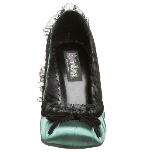 UK 39 Funtasma Satin 420 Green DAINTY EU 6 Size BqqSX