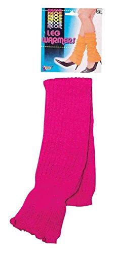 Forum Novelties Neon Leg Warmers, Pink, One (Neon Dance Costumes)