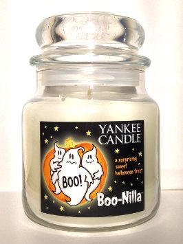 1351922 Boo-Nilla Yankee Candle 14.5 oz Medium Jar