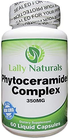 Amazon Com Phytoceramides 350mg Anti Aging Skin Supplement Non Gmo Plant Derived Powerful Hair Skin And Nails Vitamins Help To Hydrate The Skin And Reduce Fine Lines And Eliminate Wrinkles 60 Capsules
