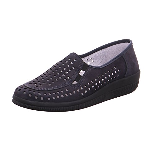 Loafer Blue ACO Blue ACO Women's Flats Loafer Women's ACO Flats Women's Loafer Blue Flats PHqccOF4
