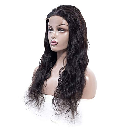 Get-in Hair Body Wave Lace Front Human Hair Wigs For Women Peruvian Remy Natural Color Hair Lace Front Wigs With Baby Hair,Natural Color,20inches,150%