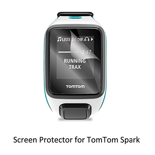 UTP 3pcs Clear LCD PET Film Anti-Scratch Screen Protector Cover for Tom Tom TomTom Spark / Spark Cradio / Runner 2 / Runner 3 Cradio