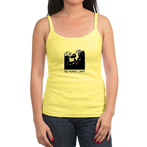 CafePress - No-Man's Land - Jr. Spaghetti Tank Top, Soft Cotton Tank with Thin Straps