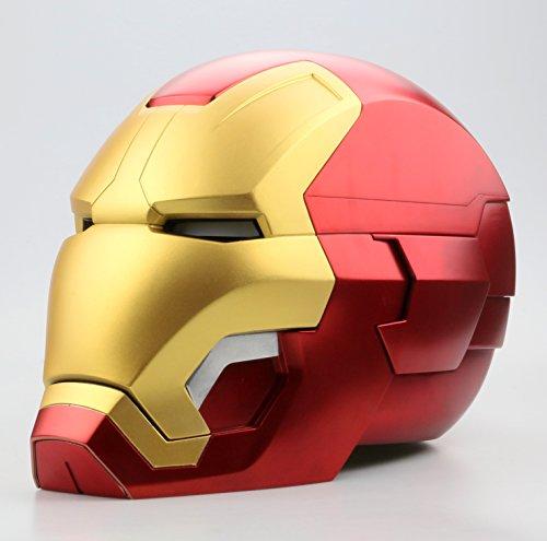 Iron Man Mask Light Up Eyes - 9