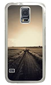 Field Way Polycarbonate Hard Case Cover for Samsung S5/Samsung Galaxy S5 Transparent