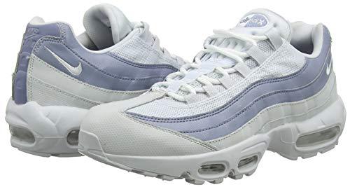 Max Uomo 001 Nike Platinum 95 Scarpe Slate Ginnastica Da ashen Essential Basse Multicolore white Air pure 8ZZq5