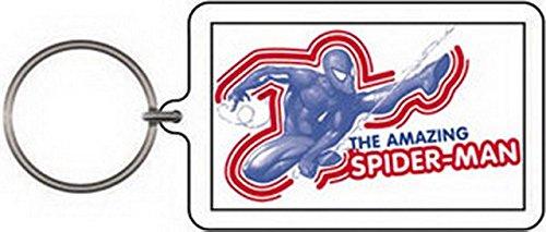 CD Visionary Marvel Comics Spider-Man Swinging Lucite Keychain K-SPI-0009
