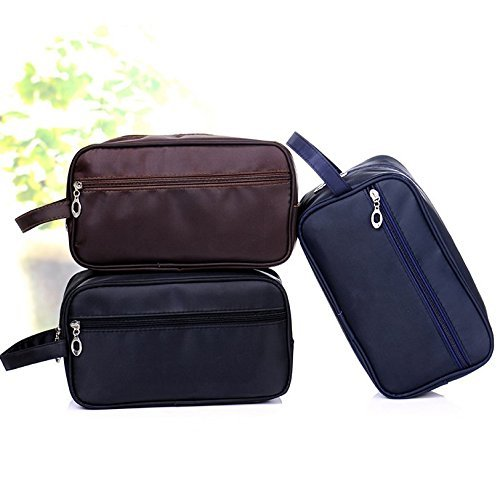 Efbock Toiletry Bag Travel Organizer Classy Waterproof Portable Wash Gym Shaving Bag for Men 1pcs