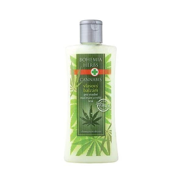 Cannabis Hair Conditioner with Hemp Oil 250 ml – Original Pure Natural Cosmetics