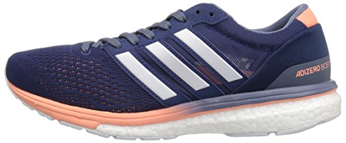 Adidas Adizero Indigo white Adidasadizero 6 Noble Boston Femme w raw W Steel XXqrw6