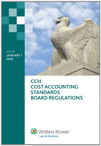 Cost Accounting Standards Board Regulations as of 01/2012