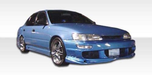 1993-1997 Toyota Corolla/Geo Prizm Duraflex Bomber Kit-Includes Bomber Front Bumper (101324), Bomber Rear Bumper (101325), and Bomber Sideskirts (102033). - Duraflex Body Kits ()