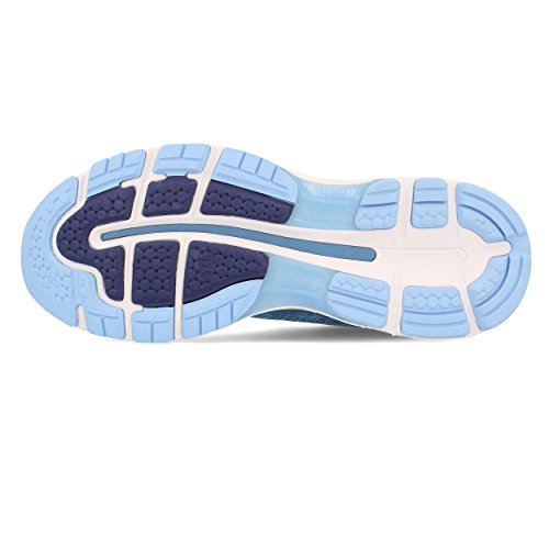 Asics Shoes Blue Running Nimbus Gel White Azure 401 Women's 20 ryAWqXrT