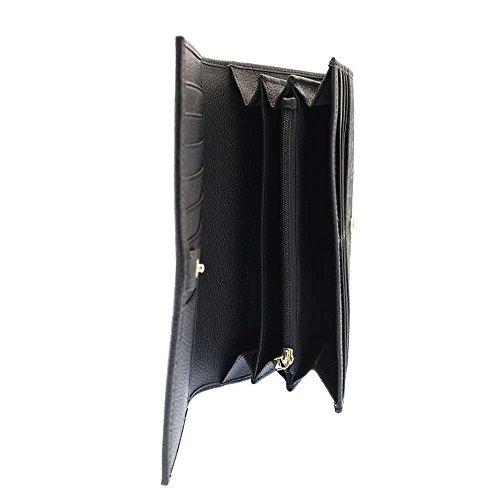 Portafoglio Pollini Tapiro Donna Nero - TE9000PP02Q1100A