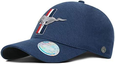 Ford Lifestyle Collection 35030212 Casquette de baseball sans coutures Bleu
