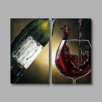 Elegant HYu0026GG Bereit, Streckte Die Hand Hand Painted Ölmalerei Auf Leinwand Moderne  Esszimmer Still Life