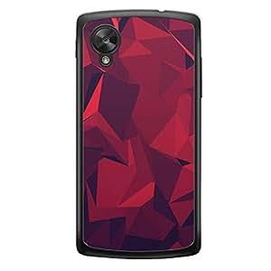 Loud Universe Nexus 5 2015 Love Valentine A Valentine 88 Transparent Edge Case - White/Red