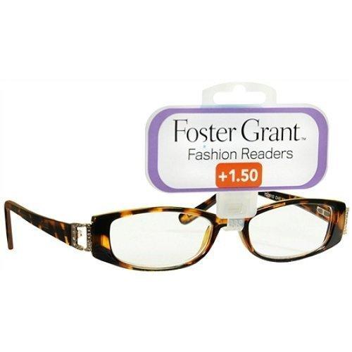 Tortoise Rhinestone (Foster Grant Fashion Readers +1.25