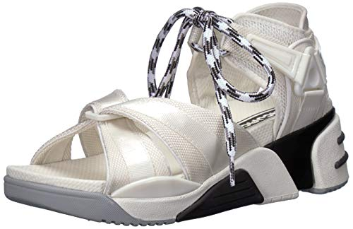 - Marc Jacobs Women's Somewhere Sport Sandal with Sock, White/Multi 38 M EU (8 US)