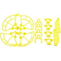 Togather Propeller Guards & Landing Gear Skid & Finger Hand Guards Protection Combo for DJI SPARK (yellow)