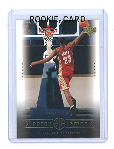 Upper Deck 2003 Mint - 2003 Upper Deck #22 Above the Rim Lebron James Rookie Card - Mint Condition Ships in a Brand New Holder