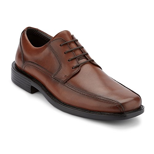 - Dockers Mens Perry Leather Dress Oxford Shoe, Dark Tan, 11 M